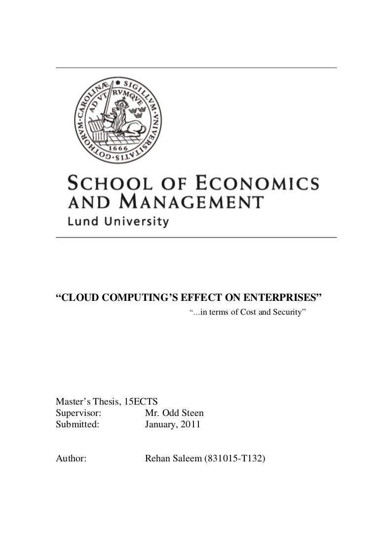 Computing Msc Dissertation >> Research papers