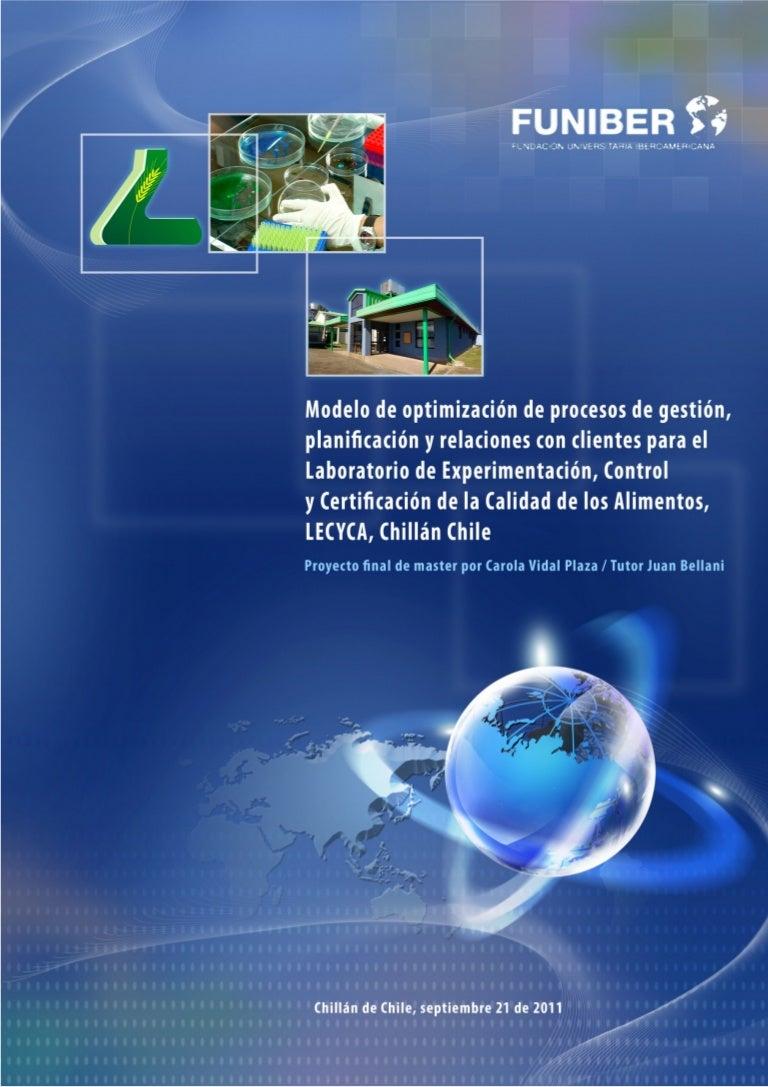 Tesis Alumno FUNIBER. Wanda Carola Vidal - Modelo de optimización de …