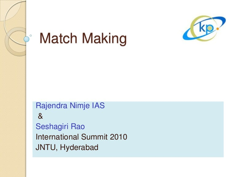 matchmaking hyderabad