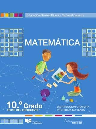 Matematica10 egb 2021 2022