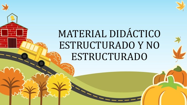 tipos de material educativo pdf