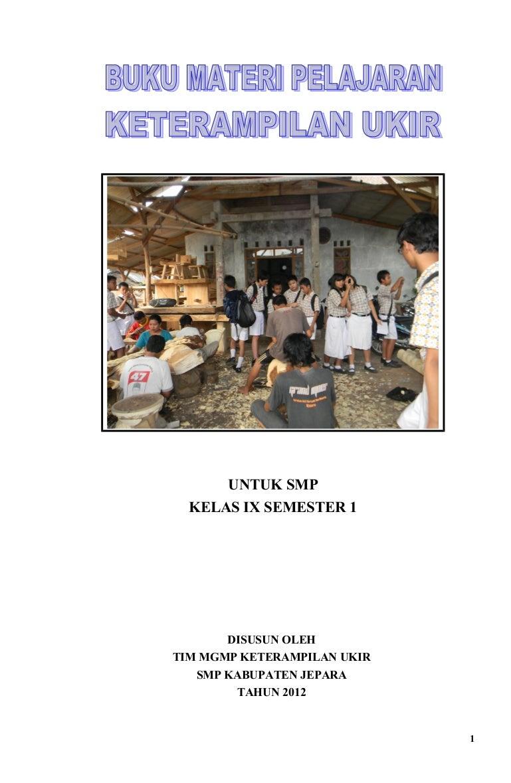 Materi Ukir Kelas Ix Jepara