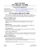 Mathcad 15.0 m40 read this first