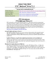 Mathcad prime 3.1 read me first
