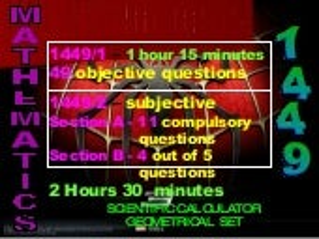 Mathematics Keynotes 2