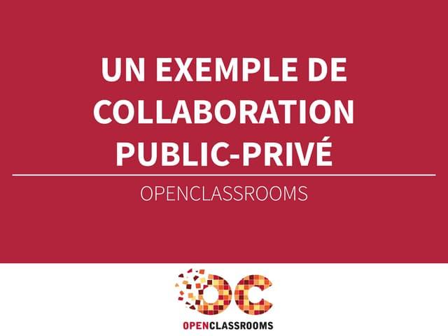 Un exemple de collaboration public - privé - Mathieu Nebra