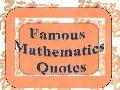 Mathematics quotations