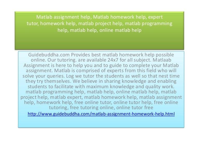 Homework expert