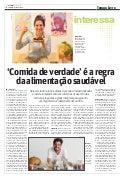 Matéria jornal o tempo - 02/04/17 - comida de verdade 1