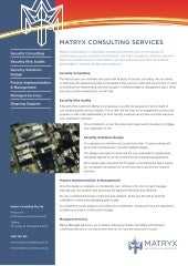 Matryx Consulting Services