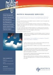 Matryx Managed Services