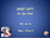 Maude white -  Art only with paper