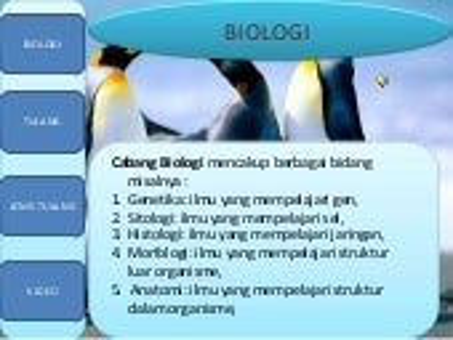 biology lesson