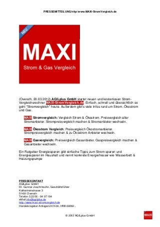 www.Maxi-stromvergleich.de