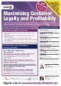 Maximising Customer Loyalty & Profitability Final Programme
