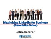 Maximizing linkedin for business 111031164729 phpapp02 thumbnail