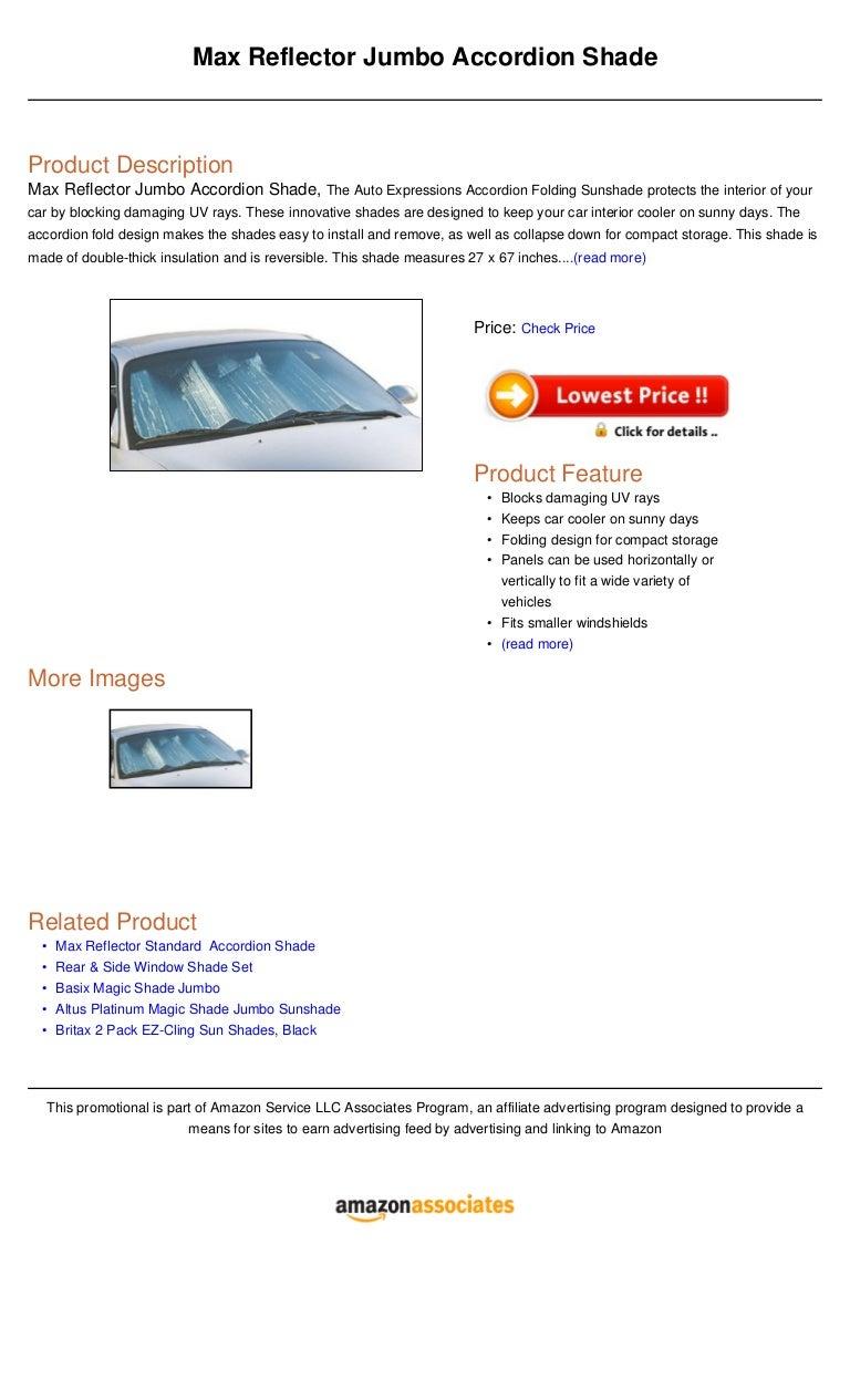 Altus Platinum Magic Shade Standard Sunshade