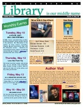 May 2011 newsletter hcms