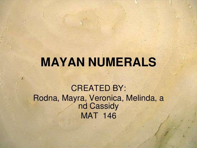 The Misunderstanding of Maya Math « Maya Decipherment