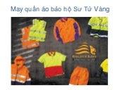 May quần áo bảo hộ ở đâu tại HCM