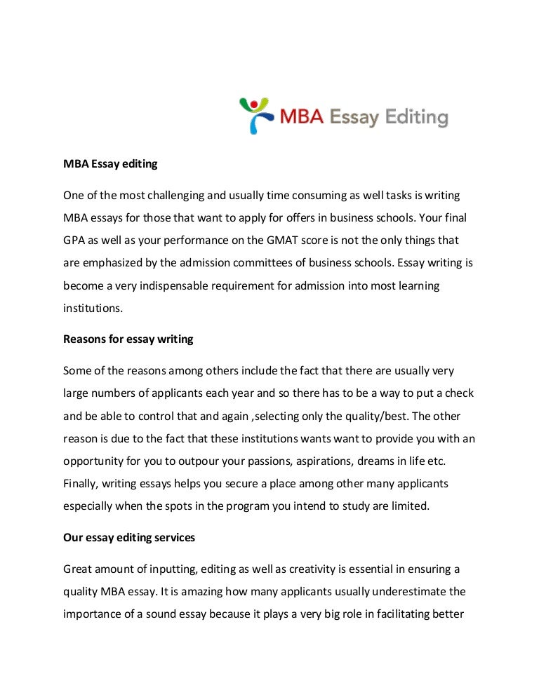cheap mba essay editing for hire us