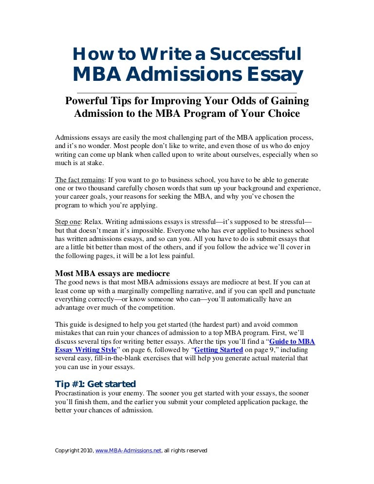 Mba admission essays services cambridge