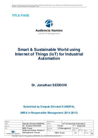 Urgent advice for paper on internet connectivity and manufacturing automation?