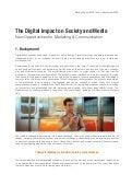 Digital Impact on Society & Media (Summary)