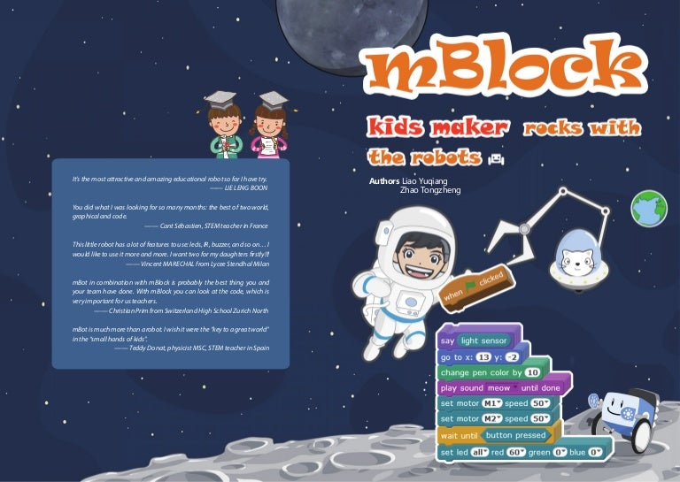 How to Rock with Robots for Young Makers with mBlock