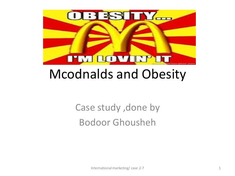 case 2-7 mcdonald?s and obesity pdf