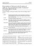 Meta-Analysis of Probiotics for the Prevention of Antibiotic Associated Diarrhea and the Treatment of Clostridium difficile Disease