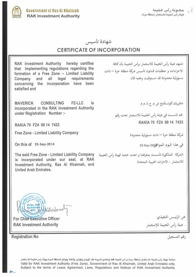 Mcfzllc certificate of incorporation copy xflitez Images