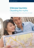 MCKINSEY | Chinese tourists Dispelling the myths | Sept 2018