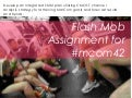 Mcom42   rubric - flash mob