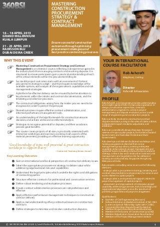 Dissertation procurement strategy