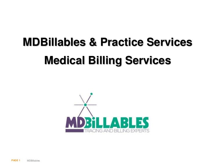MDBillables & Practice Management Services: Medical