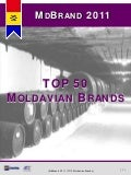 MdBrand 2011 - TOP 50 Moldavian Brands