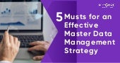 5 Musts For an Effective Master Data Management Strategy