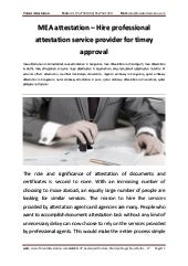 Mea attestation-hire-professional-attestation-service-provider-for-timey-approval
