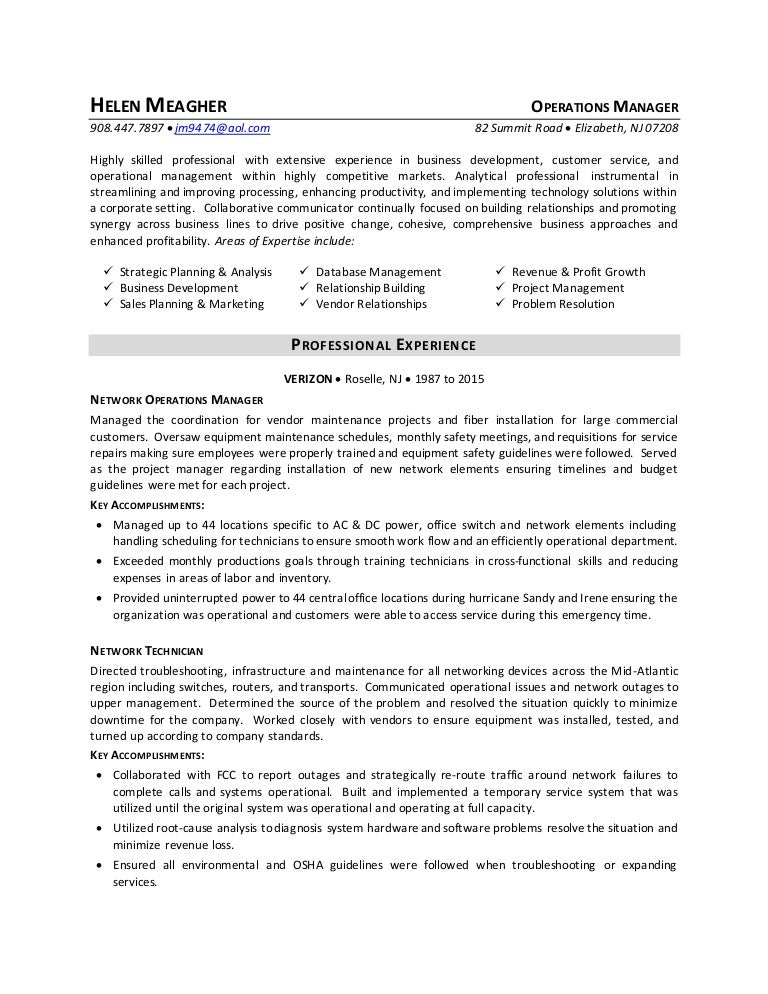 Meagher resume