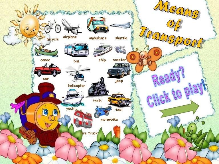 Number Names Worksheets paragraph on means of transport : Essay on means of transport for kids / kids care,kid receipes ...