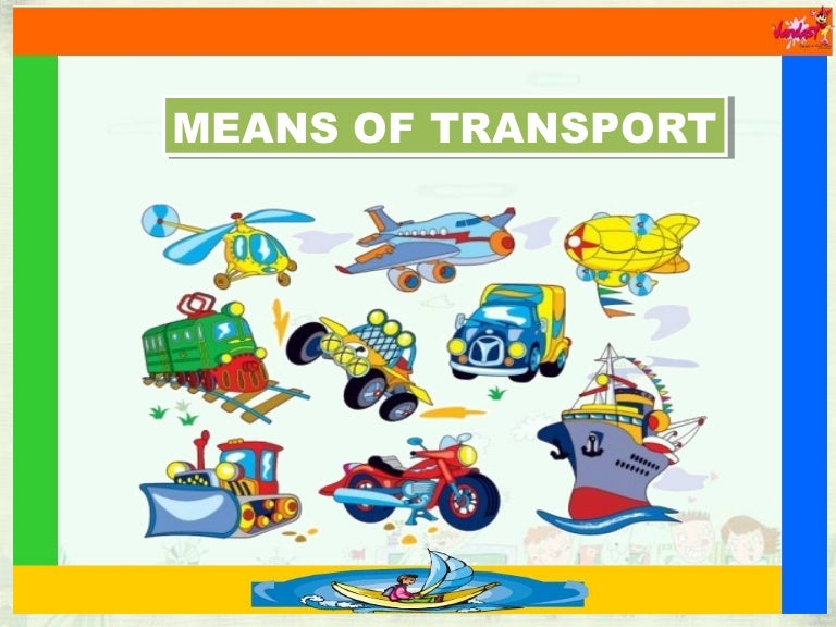 Number Names Worksheets paragraph on means of transport : Means of Transport