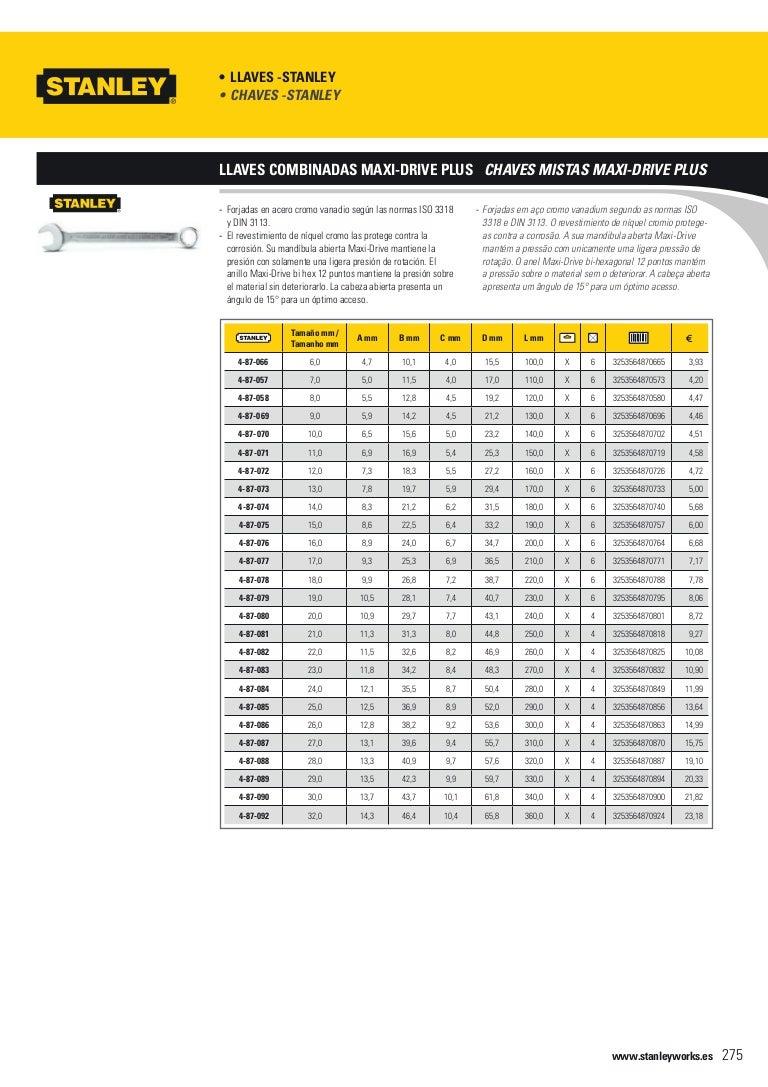 Negro Stanley 0-97-553 Juego de 8 llaves hexagonales Torx con bloqueo Amarillo
