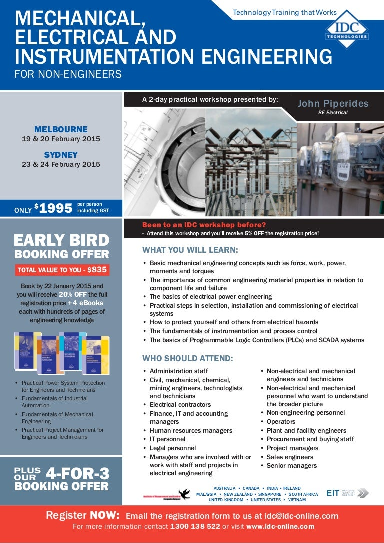 Mechanical, Electrical & Instrumentation Engineering for Non-Engineers