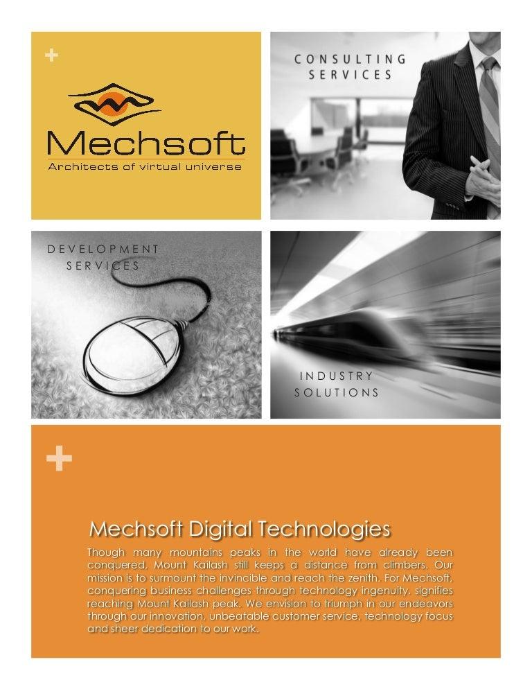 Mechsoft Expertise Brochure