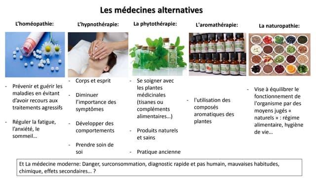 Medecines alternatives