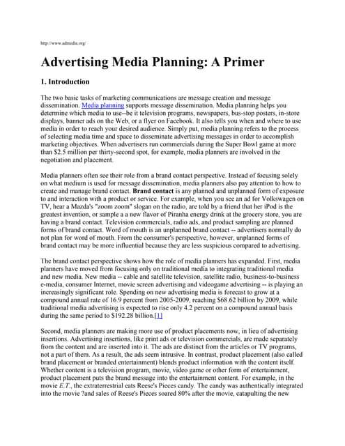 Media Planning Explained