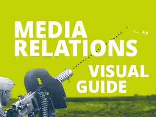 Visual guide to Media Relations by @prezly