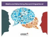 Emrooz Marketing Research Co. (EMRC) - Media & Ad research dept. profile