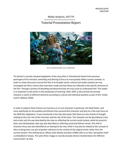 Pmmedia analysis essay
